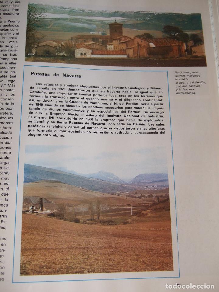 Libros de segunda mano: ITINERARIOS POR NAVARRA - ZONA MEDIA Y RIBERA - 1978 SALVAT - 166 PAGINAS - TAPAS DURAS - Foto 5 - 91011665