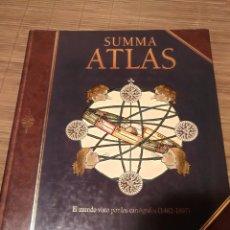 Libros de segunda mano: SUMMA ATLAS, EL MUNDO VISTO POR LOS CARTÓGRAFOS (1482-1897) PHILLIP ALLEN - SALVAT 1993. Lote 91015110