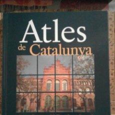 Libros de segunda mano: ATLES DE CATALUNYA - BARCELONÈS / VALLÈS OCCIDENTAL - ENCICLOPÈDIA CATALANA. Lote 91210120