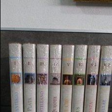 Libros de segunda mano: RUTAS DE ESPAÑA. 8 TOMOS NUEVOS SIN ABRIR + 8 DVD`S Y 1 DVD- ROM.. Lote 91294055