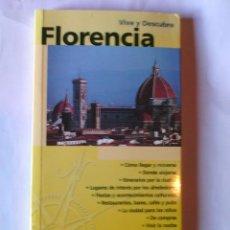 Libros de segunda mano: FLORENCIA. VIVE Y DESCUBRE. EDITORIAL EVEREST. Lote 92790660