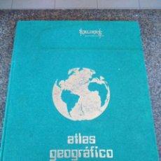 Libros de segunda mano: ATLAS GEOGRAFICO UNIVERSAL -- SALINAS 1977 --. Lote 92937430