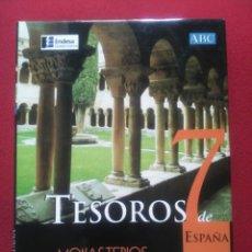 Libros de segunda mano: TESOROS DE ESPAÑA 7 .MONASTERIOS. EDITORIAL ESPASA. Lote 93182163
