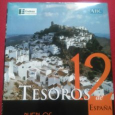 Libros de segunda mano: TESOROS DE ESPAÑA 12 PUEBLOS Y LUGARES. EDITORIAL ESPASA. Lote 93182812