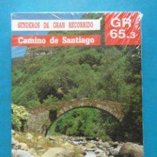 Livres d'occasion: SENDEROS DE GRAN RECORRIDO CAMINO DE SANTIAGO GR 65.3. PRECINTADO SIN ABRIR. Lote 93588000
