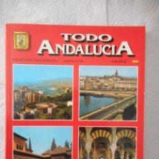 Livros em segunda mão: TODO ANDALUCÍA. COLECCIÓN TODO ESPAÑA. EDITORIAL ESCUDO DE ORO S.A. 128 PÁGINAS. 1989. NUEVO. Lote 93782965