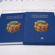Libros de segunda mano: VIAJES Y VIAJEROS EN LA EUROPA MEDIEVAL.. Lote 135268827