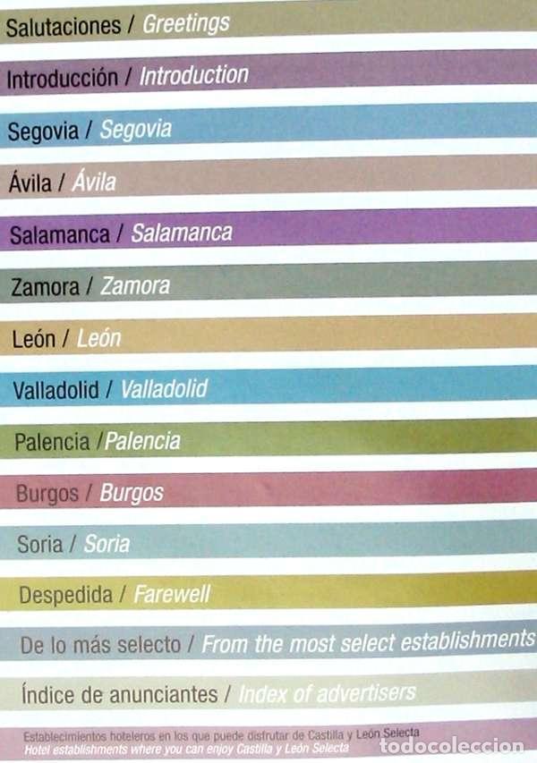 Libros de segunda mano: CASTILLA Y LEÓN SELECTA - ANUARIO TURÍSTICO 2006 - VER INDICE Y FOTOS - Foto 3 - 94327442