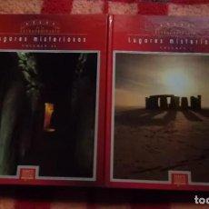 Second hand books - LUGARES MISTERIOSOS - ATLAS DE LO EXTRAORDINARIO - 2 TOMOS - EDICIONES DEL PRADO - 94507090