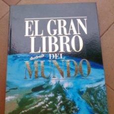 Libros de segunda mano: EL GRAN LIBRO DEL MUNDO BERTELSMANN ATLAS EL PERIÓDICO . Lote 94560607