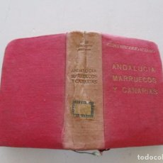 Libros de segunda mano: ANDALUCÍA, MARRUECOS Y CANARIAS. GUÍAS AFRODISIO AGUADO. RMT82093. . Lote 94720099