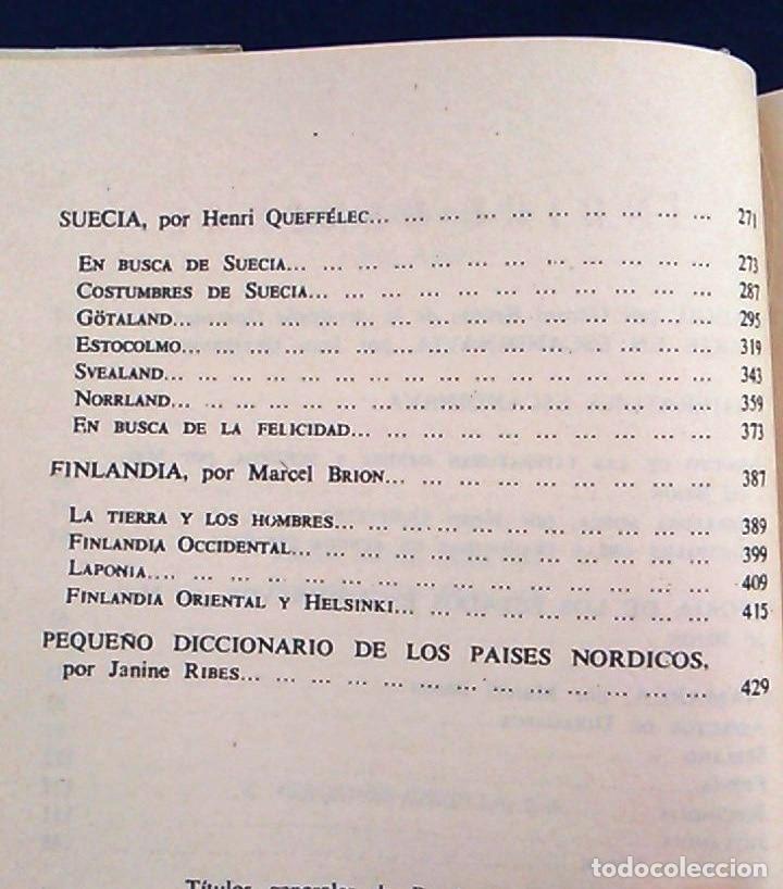 Libros de segunda mano: El mundo en color. Los países nórdicos. Dinamarca, Noruega, Suecia y Finlandia. Ediciones Castilla. - Foto 5 - 94756463