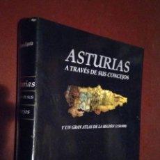 Libros de segunda mano: ASTURIAS A TRAVÉS DE SUS CONCEJOS Y UN GRAN ATLAS DE LA REGIÓN / PRENSA ASTURIANA LNE OVIEDO. Lote 94807367