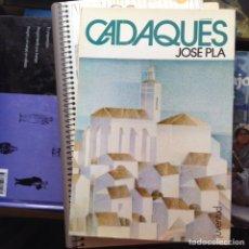 Libros de segunda mano - Cadaqués. José Pla - 94984364