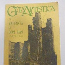 Libros de segunda mano: GUIA ARTISTICA DE VALENCIA DE DON JUAN (COYANZA). EULOGIO ALONSO GONZALEZ. 1959. Lote 95035271