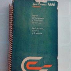 Libros de segunda mano: GUIA CAMPSA 1990. Lote 95197490