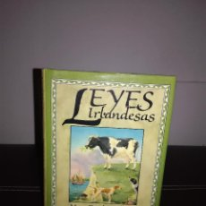 Libros de segunda mano: MARY DOWLING DALEY - LEYES IRLANDESAS - THE APPLETREE PRESS, 1992 - ILUSTRADO - CURIOSO - NUEVO. Lote 95407355