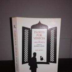 Libros de segunda mano: TONI SEPEDA - PASEOS POR VENECIA - SEIX BARRAL, 2007 - PLANOS - NUEVO. Lote 95407839