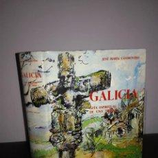 Libros de segunda mano: JOSÉ MARÍA CASTROVIEJO - GALICIA - ESPASA CALPE, 1960 - FOTOS - BUEN ESTADO. Lote 95408867