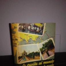 Libros de segunda mano: JOSÉ FERRER-VIDAL LLAURADÓ - MI VUELTA AL MUNDO EN 144 HORAS DE VUELO - 1958 - FOTOS - ESCASO. Lote 95409071