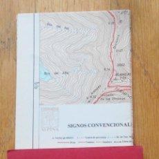 Libros de segunda mano: CANDANCHU CANFRANC, GUIA CARTOGRAFIA, EDITORIAL ALPINA. Lote 95425295