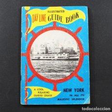 Libros de segunda mano: CURIOSA GUIA DE NUEVA YORK, HUDSON RIVER DAY LINE GUIDE BOOK 96 PAGINAS AÑOS 50. Lote 95431375