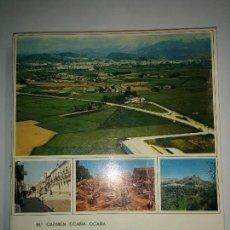 Libros de segunda mano: LA VEGA DE GRANADA 1974 Mª CARMEN OCAÑA OCAÑA INSTITUTO DE GEOGRAFÍA APLICADA C .S. I. C. . Lote 95448395