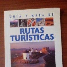 Libros de segunda mano: GUÍA Y MAPA DE RUTAS TURÍSTICAS. Lote 95682131