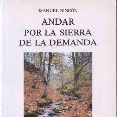 Libros de segunda mano: RINCÓN ÁLVAREZ, MANUEL: ANDAR POR LA SIERRA DE LA DEMANDA. Lote 95813739