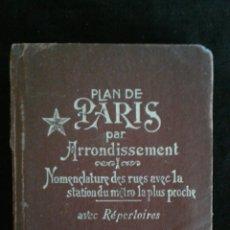 Libros de segunda mano: PLAN DE PARIS. A. LECONTE 1970 GUIA Y PLANOS DE PARÍS.. Lote 96006568