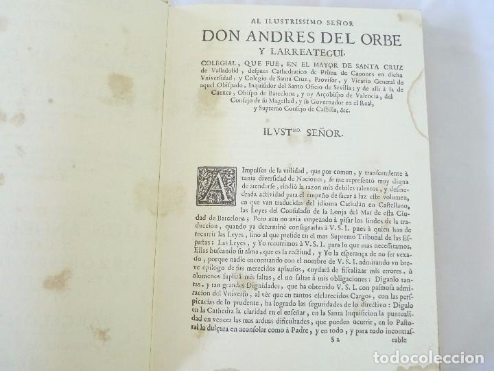 Libros de segunda mano: CONSULADO DEL MAR DE BARCELONA EDICIÓN FACSIMIL - Foto 7 - 96019255
