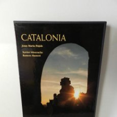 Libros de segunda mano: CATALONIA .- JOAN MARIA PUJALS, XAVIER MISERACHS, RAMÓN MANENT 1995 TAPA DURA CON ESTUCHE. Lote 96336539