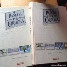 Libros de segunda mano: PASEOS POR CÓRDOBA. TEODOMIRO RAMÍREZ . DOS TOMOS. Lote 96408779