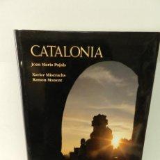 Libros de segunda mano: CATALONIA .- JOAN MARIA PUJALS, XAVIER MISERACHS, RAMÓN MANENT 1995 TAPA DURA . Lote 96569795