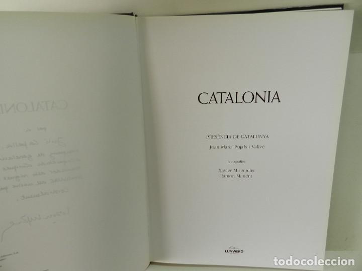 Libros de segunda mano: CATALONIA .- JOAN MARIA PUJALS, XAVIER MISERACHS, RAMÓN MANENT 1995 TAPA DURA - Foto 4 - 96569795