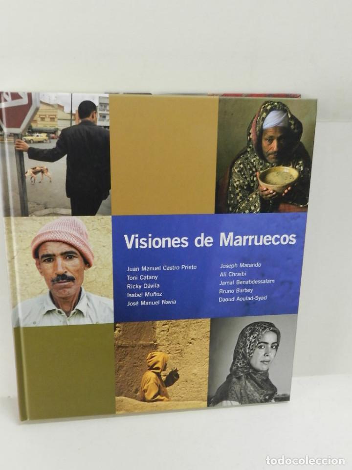 VISIONES DE MARRUECOS FUNDACION TRES CULTURAS DEL MEDITERRA?NEO FOTOGRAFÍA DESCATALOGADO DIFICIL (Libros de Segunda Mano - Geografía y Viajes)