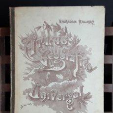 Libros de segunda mano: ATLAS DE GEOGRAFÍA UNIVERSAL. SALVADOR SALINAS. EDITOR DE OBRAS PROPIAS S. SALINAS. 1955.. Lote 96735567