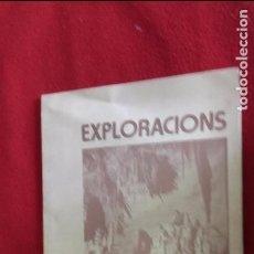 Libros de segunda mano: EXPLORACIONS 2 - GRUP GEOGRÁFICO DE GRACIA - EDITA ORFEO GRACIENC - RUSTICA. Lote 97209883