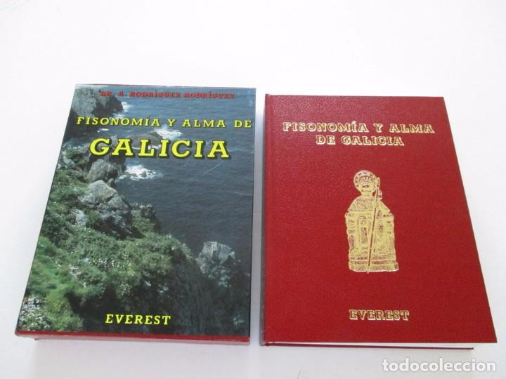 DR. A. RODRÍGUEZ RODRÍGUEZ. FISONOMÍA Y ALMA DE GALICIA. RM82802. (Libros de Segunda Mano - Geografía y Viajes)