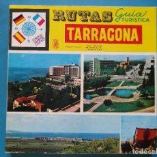 Libros de segunda mano: RUTAS GUIA TURISTICA. TARRAGONA. 1966. 4 IDIOMAS. Lote 98083611
