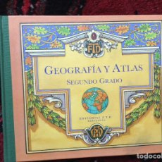Libros de segunda mano: GEOGRAFIA. ATLAS DE SEGUNDO GRADO. Lote 98214691
