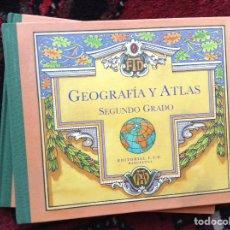 Libros de segunda mano: GEOGRAFIA. ATLAS DE SEGUNDO GRADO. Lote 98214751