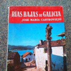 Libros de segunda mano: RIAS BAJAS OF GALICIA - JOSE MARIA CASTROVIEJO -- EDITORIAL NOGUER 1959 -- TEXTO EN INGLES --. Lote 98763315