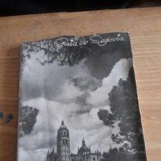 Libros de segunda mano: GUÍA DE SEGOVIA DE 1949. Lote 98771491