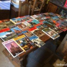 Libros de segunda mano: ANTIGUAS 40 GUIA / GUIAS DE VIAJE DE LOS AÑOS 60-70-80 DE VARIOS PAISES . Lote 99662655