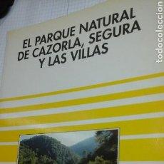 Libros de segunda mano: EL PARQUE NATURAL DE CAZORLA, SEGURA Y LAS VILLAS.SENDAI. Lote 100151762