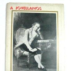 Libros de segunda mano: A JOVELLANOS. HOMENAJE DE A.M.A TORRECERREDO. GIJON. 1961. ASTURIAS. MONTAÑISMO. NICANOR PIÑOLE. Lote 100164011