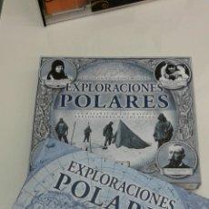 Libros de segunda mano: EXPLORACIONES POLARES CON REPRODUCCIONES FACSIMILES DE DOCUMENTOS HISTORICOS VIAJE POLO NORTE SUR. Lote 104029810