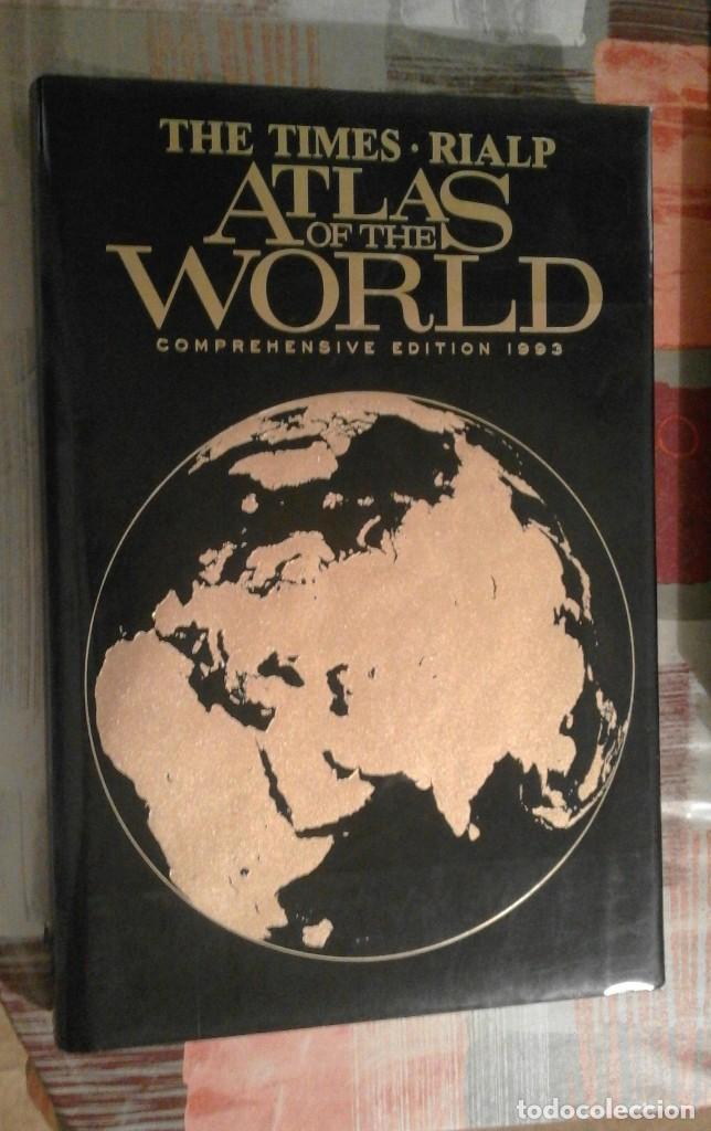 ATLAS OF THE WORLD - THE TIMES. RIALP - COMPREHENSIVE EDITION 1993 - EN INGLÉS (Libros de Segunda Mano - Geografía y Viajes)