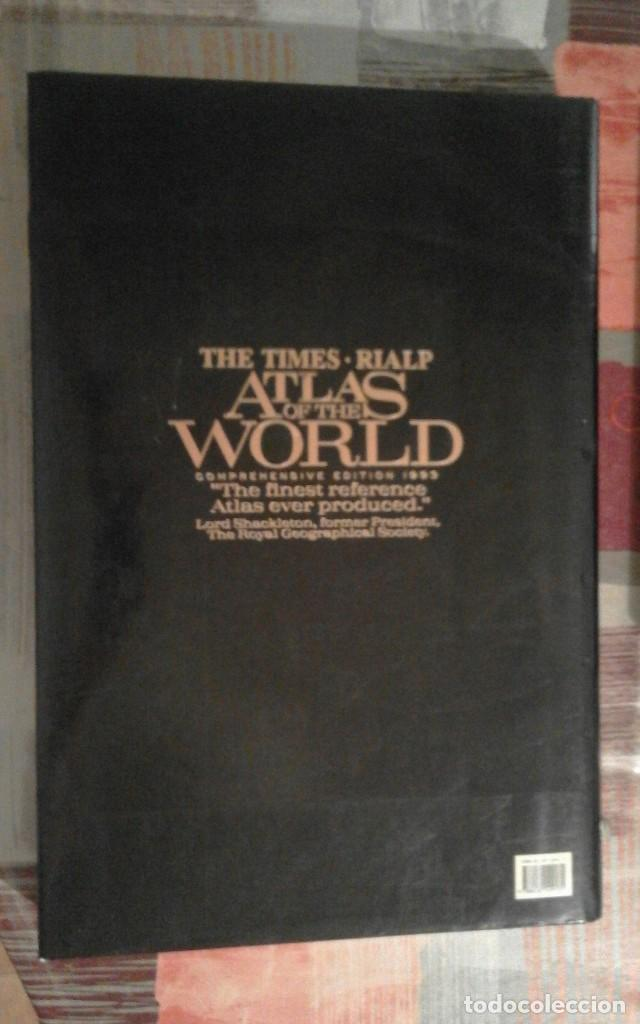 Libros de segunda mano: Atlas of the world - The Times. Rialp - Comprehensive edition 1993 - en inglés - Foto 2 - 100631179